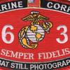 4631 Combat Still Photographer MOS Patch | Center Detail
