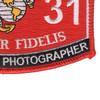 4631 Combat Still Photographer MOS Patch | Lower Right Quadrant