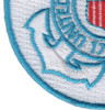 United States Coast Guard Crest Embroidered Patch | Lower Left Quadrant