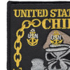 United States Navy Chief Patch | Upper Left Quadrant