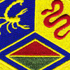460th Chemical Brigade Patch | Center Detail