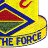 460th Chemical Brigade Patch | Lower Right Quadrant
