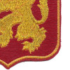 460th Airborne Field Artillery Battalion Patch WWII | Lower Right Quadrant