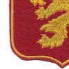 460th Airborne Field Artillery Battalion Patch WWII | Lower Left Quadrant