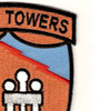 4604th Support Squadron Texas Tower 4 Patch | Upper Right Quadrant