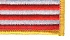 United States Reverse Flag Patch