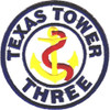 4604th Support Squadron Texas Tower 3 Patch