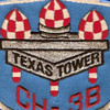 4604th Support Squadron Texas Tower 2 Patch CH-38 | Center Detail