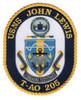 T-AO 205 USNS John Lewis Patch