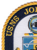 T-AO 205 USNS John Lewis Patch   Upper Left Quadrant