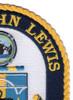 T-AO 205 USNS John Lewis Patch   Upper Right Quadrant