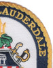USS Fort Lauderdale LPD-28 Patch   Lower Right Quadrant
