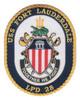 USS Fort Lauderdale LPD-28 Patch