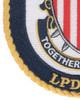 USS Fort Lauderdale LPD-28 Patch   Lower Left Quadrant