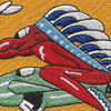 45th Fighter Squadron WWII Patch | Center Detail