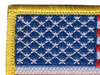 United States Flag Patch Hook and Loop - Top Left