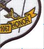 USS Hammond DE-1067 Patch   Lower Right Quadrant