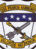 USS Hammond DE-1067 Patch    Center Detail