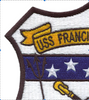 USS Hammond DE-1067 Patch   Upper Left Quadrant