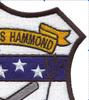 USS Hammond DE-1067 Patch   Upper Right Quadrant