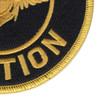 U.S Naval Aviation Patch   Lower Right Quadrant
