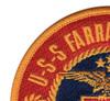 USS Farragut DDG-37 Patch   Upper Left Quadrant