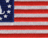 Betsy Ross Flag and Snake Patch | Center Detail