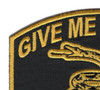 Give Me Liberty Or Give Me Death Patch   Upper Left Quadrant