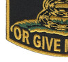 Give Me Liberty Or Give Me Death Patch   Lower Left Quadrant