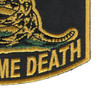 Give Me Liberty Or Give Me Death Patch   Lower Right Quadrant