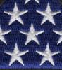In Memoriam U.S Flag Patch | Center Detail