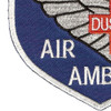45th Aviation Medical Company Air Ambulance Dustoff Blue Shield Patch | Lower Left Quadrant
