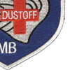 45th Aviation Medical Company Air Ambulance Dustoff Blue Shield Patch | Lower Right Quadrant