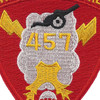 457th Airborne Field Artillery Battalion Patch - B Version | Center Detail