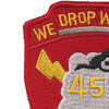 457th Airborne Field Artillery Battalion Patch - B Version | Upper Left Quadrant