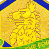 455th Chemical Brigade Protecting The Force Patch | Center Detail