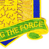 455th Chemical Brigade Protecting The Force Patch | Lower Right Quadrant