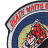 160th SOAR 101st Airborne Division Patch - Death Waits In The Dark | Upper Left Quadrant