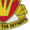 452nd Anti Aircraft Field Artillery Battalion Patch | Lower Right Quadrant