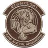 451st Expeditionary Aeromedical Evacuation Squadron Patch Desert