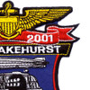 NAES Lakehurst New Jersey 80 Years Patch | Upper Right Quadrant