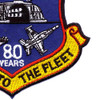 NAES Lakehurst New Jersey 80 Years Patch | Lower Right Quadrant