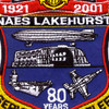 NAES Lakehurst New Jersey 80 Years Patch | Center Detail