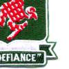 44th Airborne Tank Battalion Patch | Lower Right Quadrant