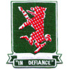 44th Airborne Tank Battalion Patch