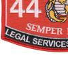 4421 Legal Services Specialist MOS Patch | Lower Left Quadrant