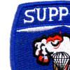 82nd Airborne Support Battalion Patch   Upper Left Quadrant