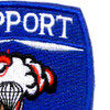 82nd Airborne Support Battalion Patch   Upper Right Quadrant