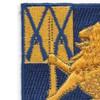 43rd Infantry Regiment Patch | Upper Left Quadrant
