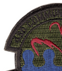 43rd Communications Squadron Patch Hook And Loop - Top Left